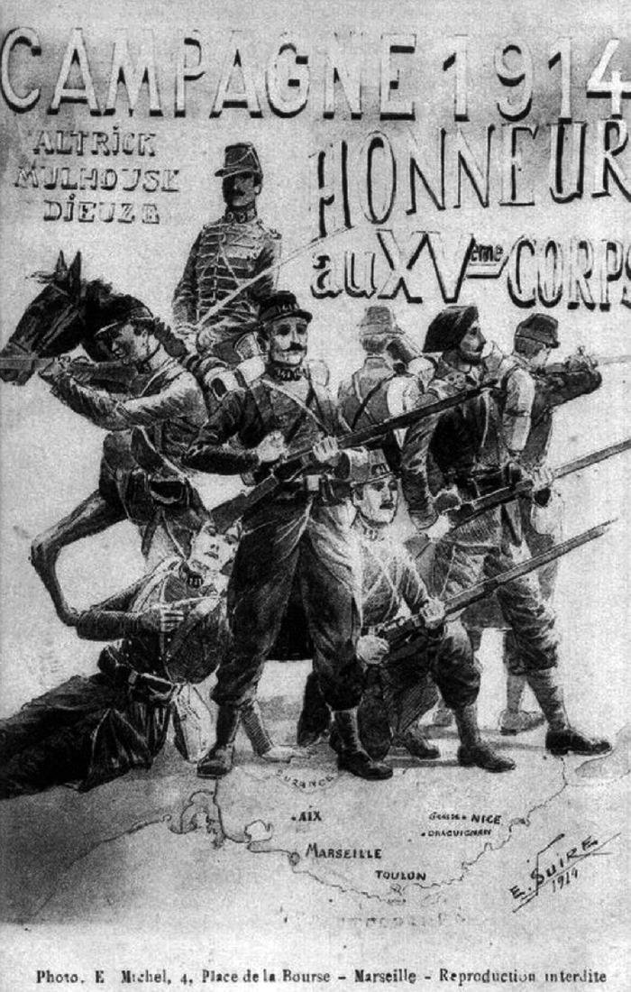 Journées du patrimoine 2018 - Conférence sur la légende noire des soldats du midi pendant la Grande Guerre