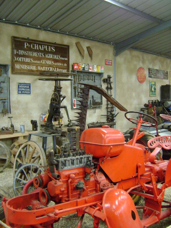 Journées du patrimoine 2017 - Conservatoire du Machinisme agricole et des métiers d'autrefois à Velesmes-Echevanne