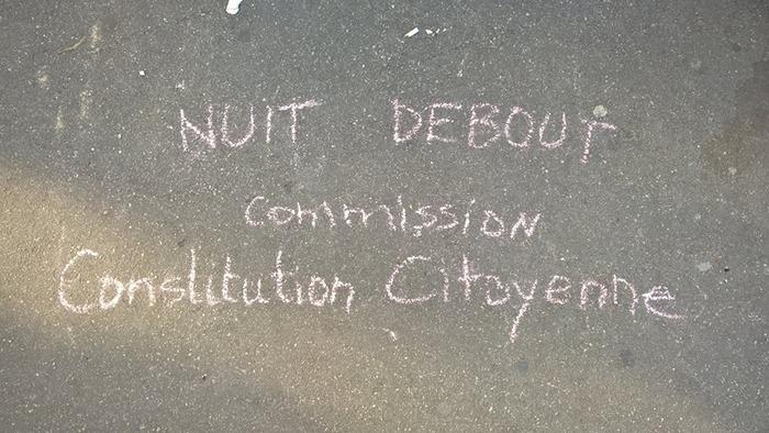 Réunion hebdomadaire de la commission ''Constitution Citoyenne''