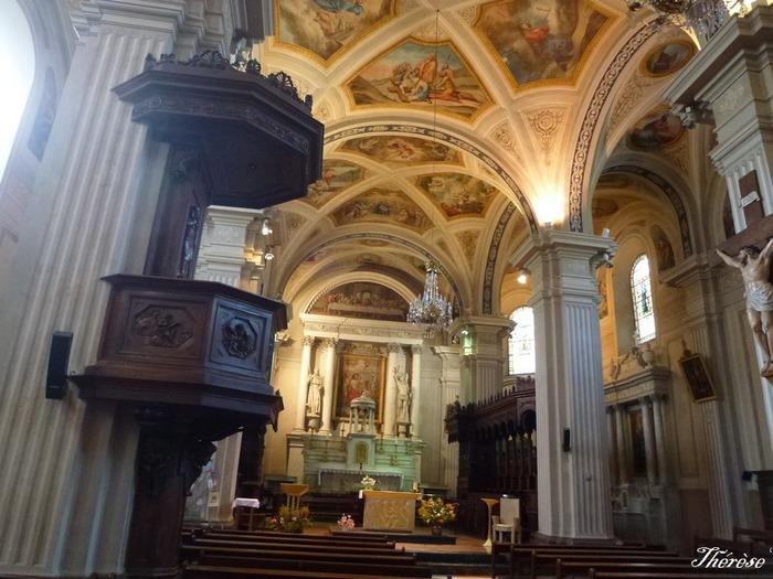Collégiale saint Jacques de Sallanches - Diocèse d'Annecy - 74