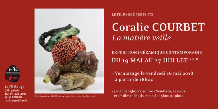 Coralie Coubet - La matière veille