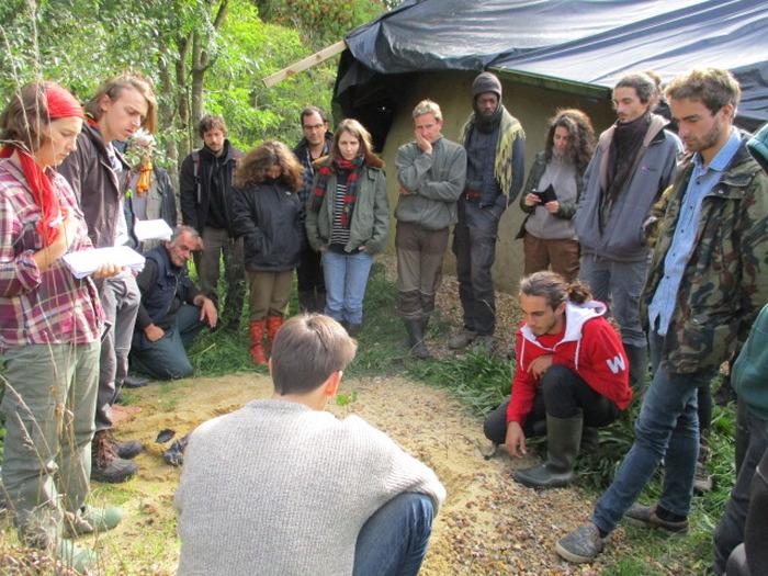Cours de conception de permaculture (CCP) à Lussault-Sur-Loire, 1er au 13 mai 2019