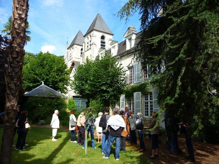Journées du patrimoine 2018 - Cours et jardins du quartier Saint-Mexme