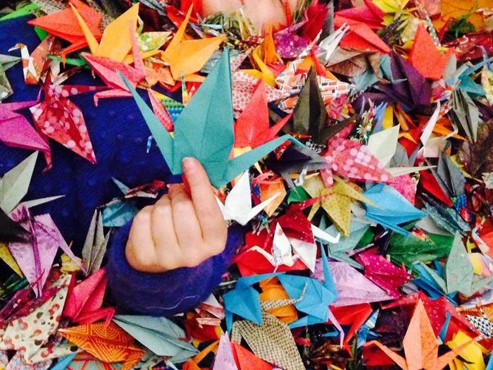 Création d'origamis
