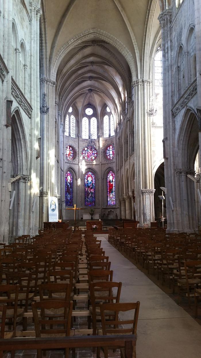 Journées du patrimoine 2018 - Création originale d'un son et lumière au sein de l'église de Moret-sur-Loing