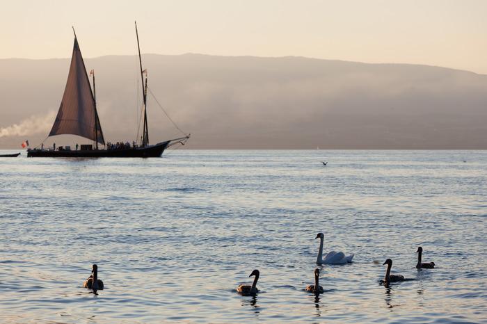 Journées du patrimoine 2018 - Circuit découverte à bord de la barque La Savoie.