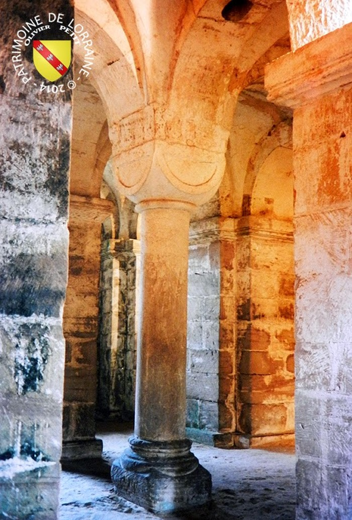 Journées du patrimoine 2018 - Crypte de l'église