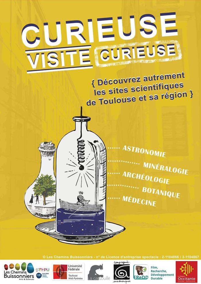Journées du patrimoine 2018 - Curieuse Visite Curieuse - Quartier des Sciences - Visite guidée théâtralisée du patrimoine scientifique culturel.