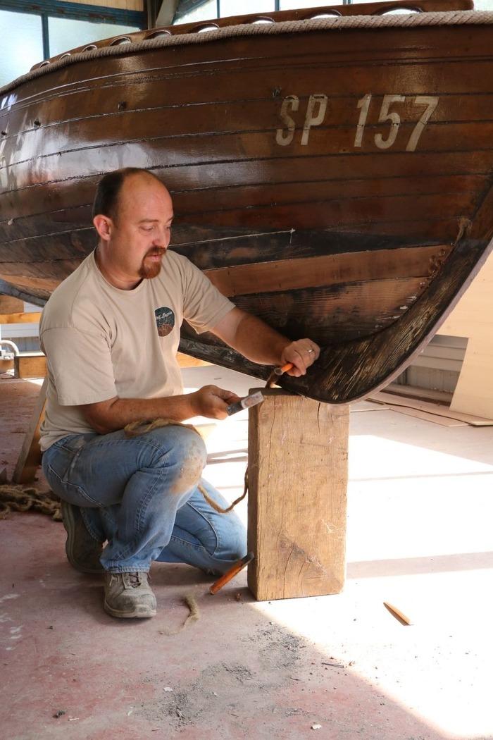 Journées du patrimoine 2017 - Cyril Puccia, charpentier de marine