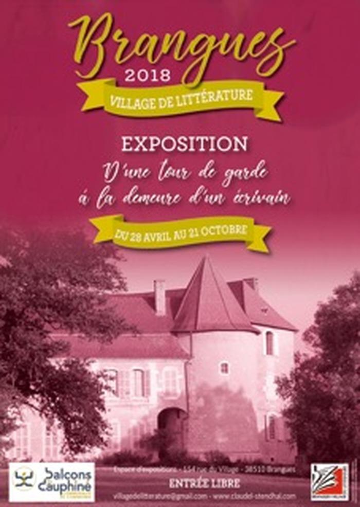 Journées du patrimoine 2018 - Exposition autour du château de Brangues.