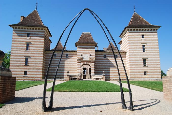 Journées du patrimoine 2017 - Daniel Coulet présente ses sculptures au château de Laréole