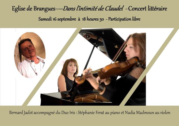 Journées du patrimoine 2017 - Dans l'intimité de Paul Claudel - Concert littéraire