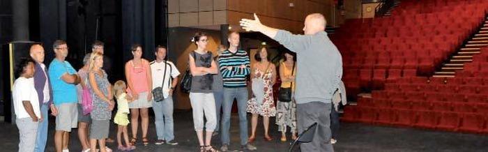 Journées du patrimoine 2017 - Dans les coulisses du Théâtre Espace Coluche