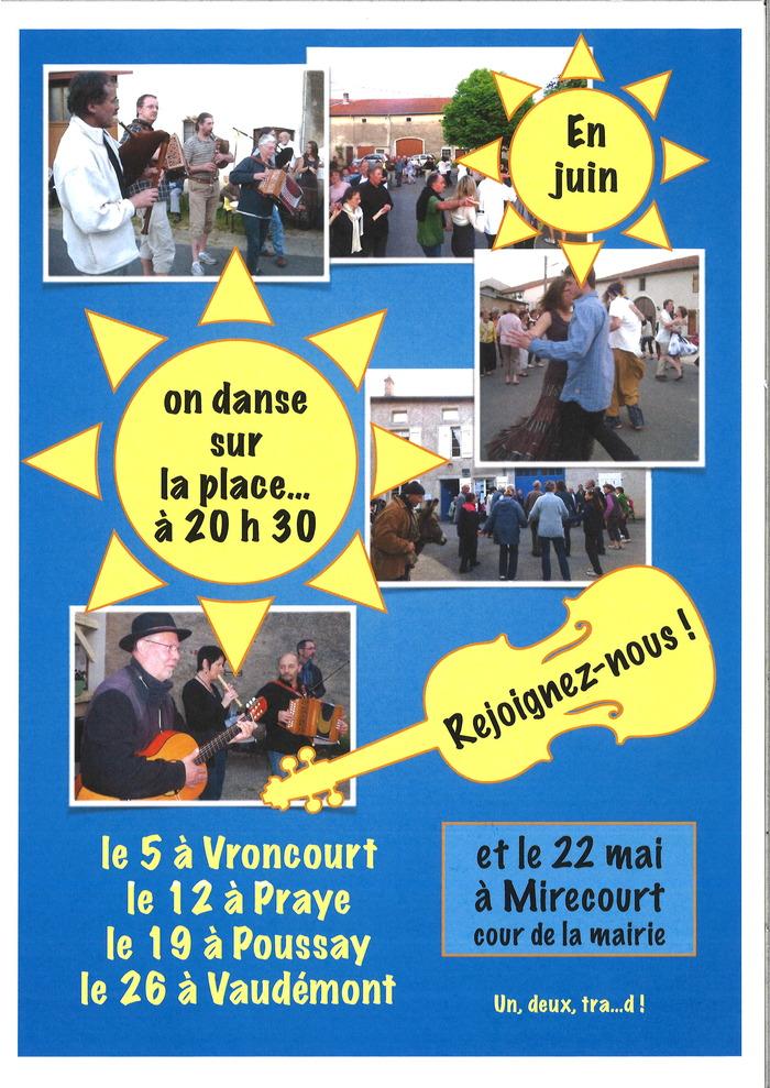 Dansons sur la place : Vroncourt