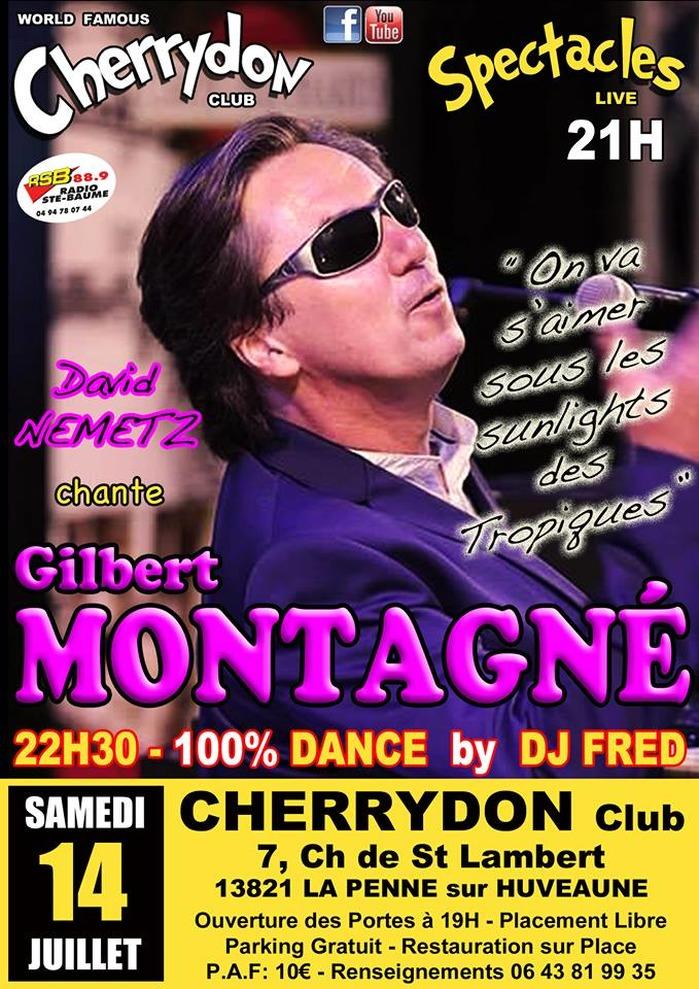 David Nemetz chante Gilbert Montagné