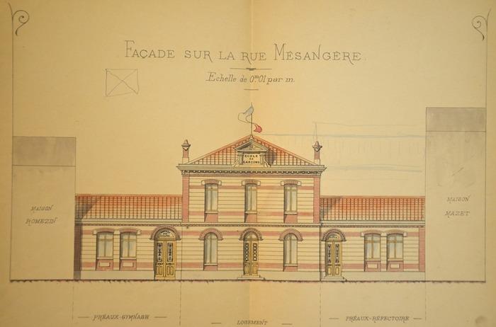 Crédits image : Archives communales de Valence 4M86