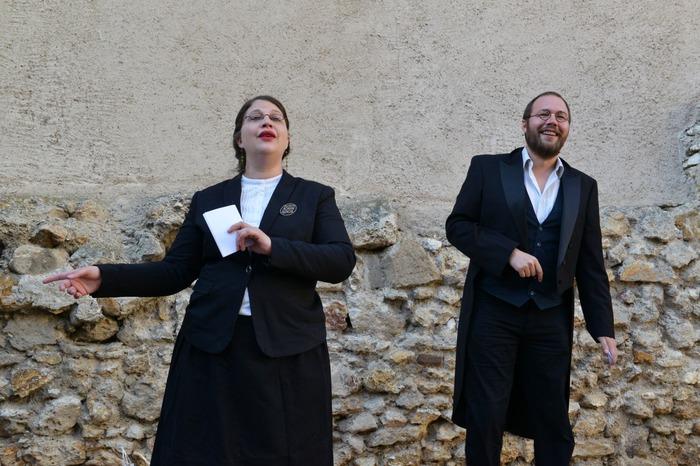 Journées du patrimoine 2018 - Déambulation dans les rues de Compertrix avec Eugénie & Barnabé