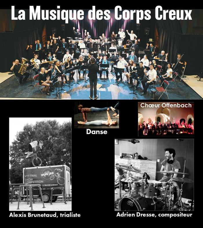 Journées du patrimoine 2018 - Déambulation musicale des Corps Creux :