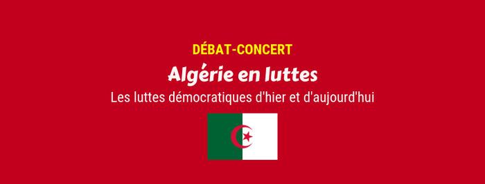 Débat-Concert : Algérie en luttes