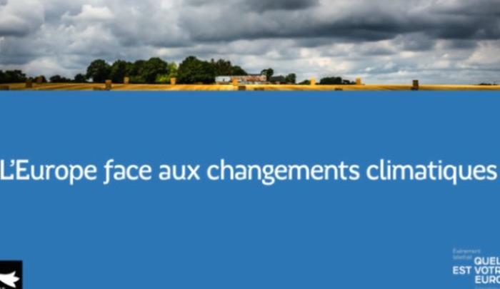 Débat «L'Europe face aux changements climatique»