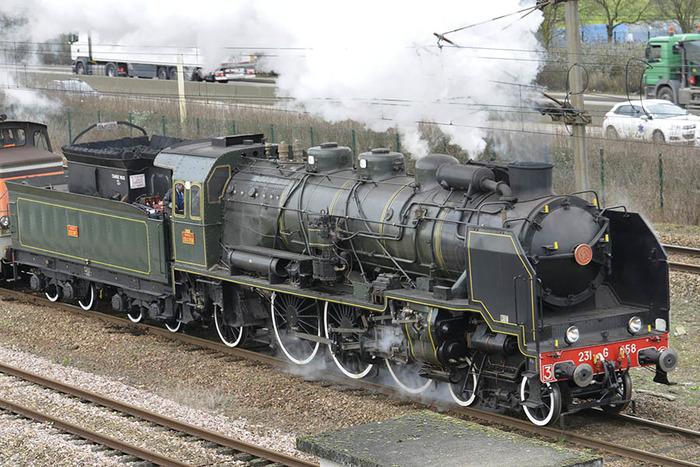 Journées du patrimoine 2018 - Balade en locomotive à vapeur