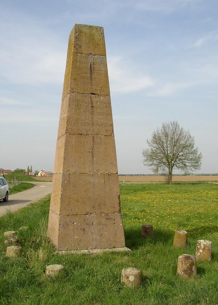 Journées du patrimoine 2018 - Découverte commentée de la stèle géodésique