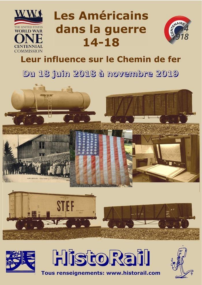 Journées du patrimoine 2018 - Découverte du patrimoine d'HistoRail, musée du chemin de fer