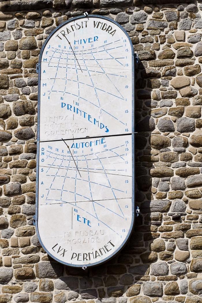 Journées du patrimoine 2018 - Découverte d'un des plus beaux cadrans solaires de France.