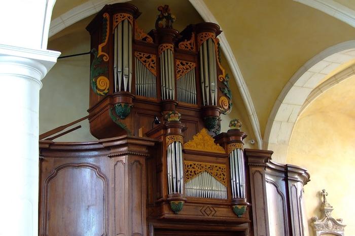 Crédits image : photo prise par Philippe LECLER, vice-président de l'association des amis de l'orgue de DOMGERMAIN