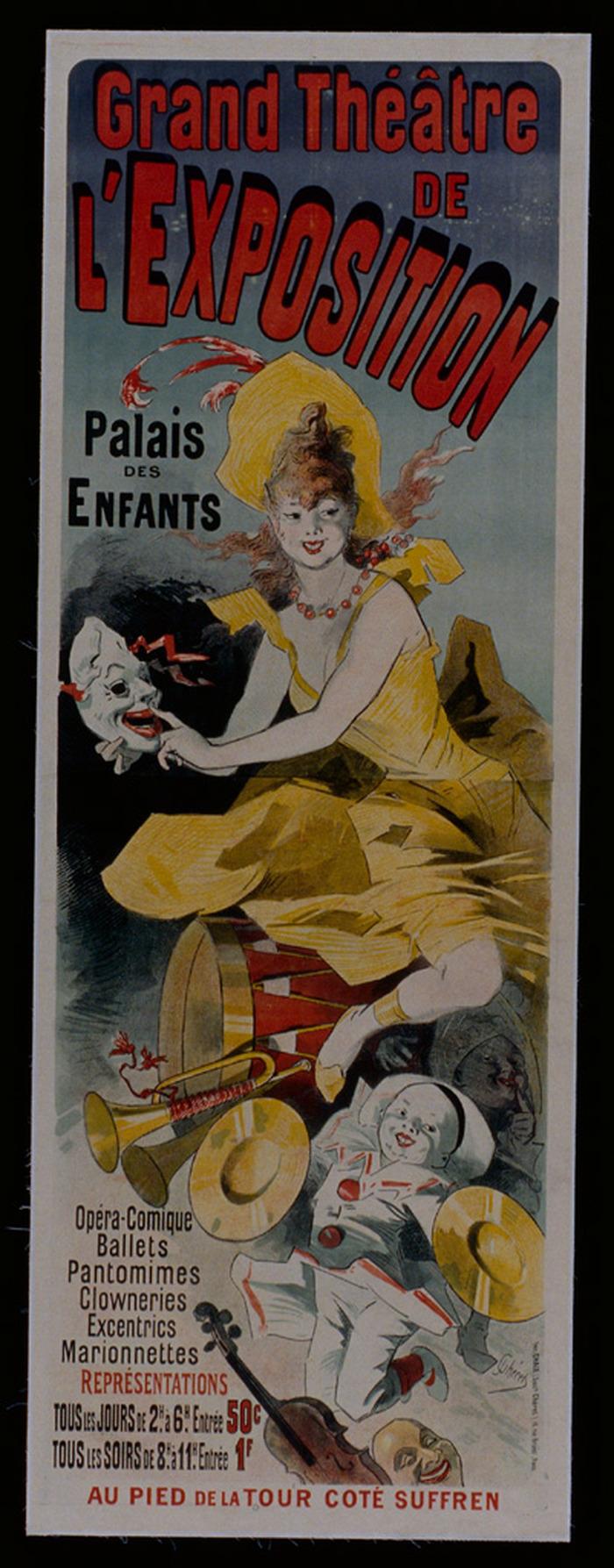 Journées du patrimoine 2018 - Découverte de 4 « trésors » des collections d'affiches de Chaumont