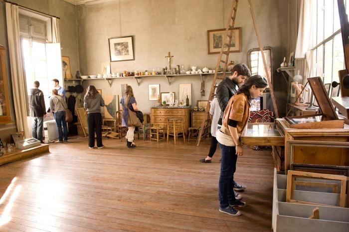 Crédits image : Vue de l'intérieur de l'atelier Cézanne©Régis Cintas-Flores