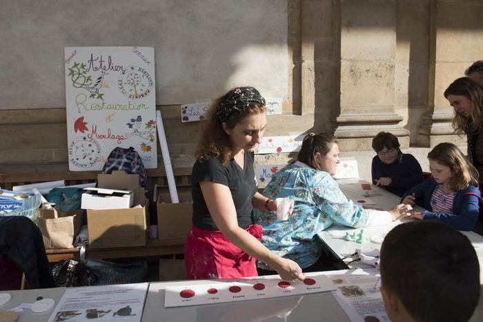 Journées du patrimoine 2018 - Découverte de l'atelier de restauration et moulage de sceaux