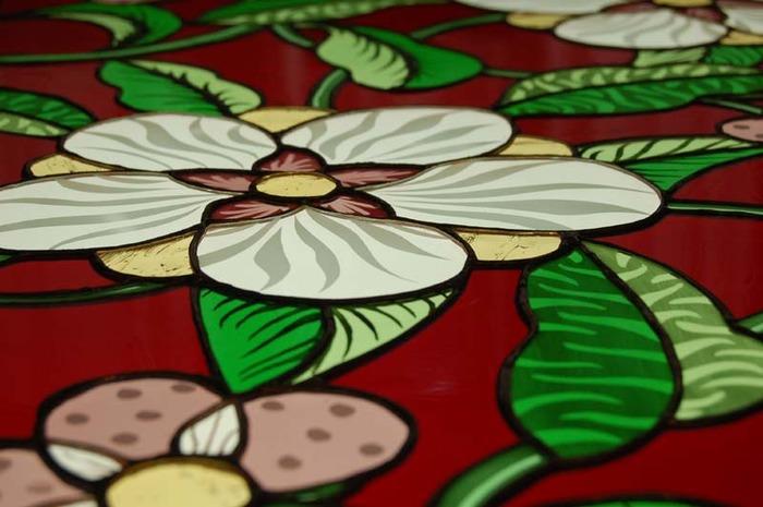 Journées du patrimoine 2018 - Découverte de l'atelier de vitrail de Diana Nguyen