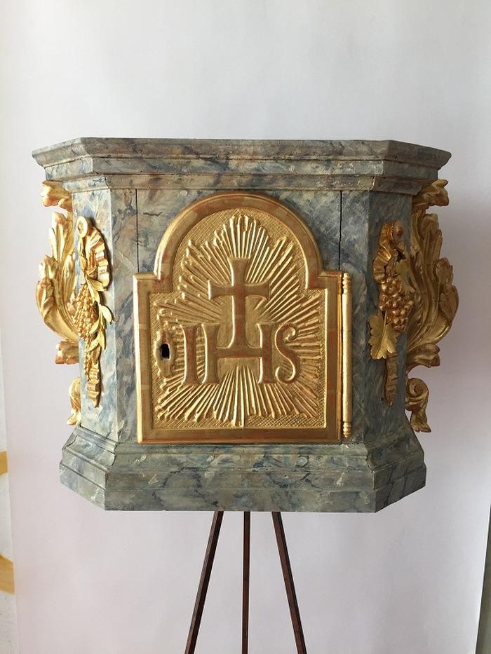 Journées du patrimoine 2018 - Découverte de l'autel baroque classé, daté de 1717, récemment restauré.