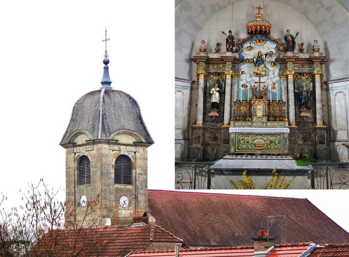 Journées du patrimoine 2018 - Découverte de l'église de l'Assomption à Fouvent-Saint-Andoche