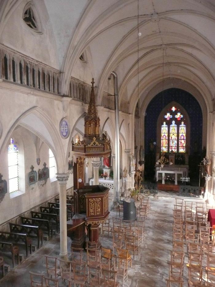 Journées du patrimoine 2018 - Découverte de l'église de Montarlot
