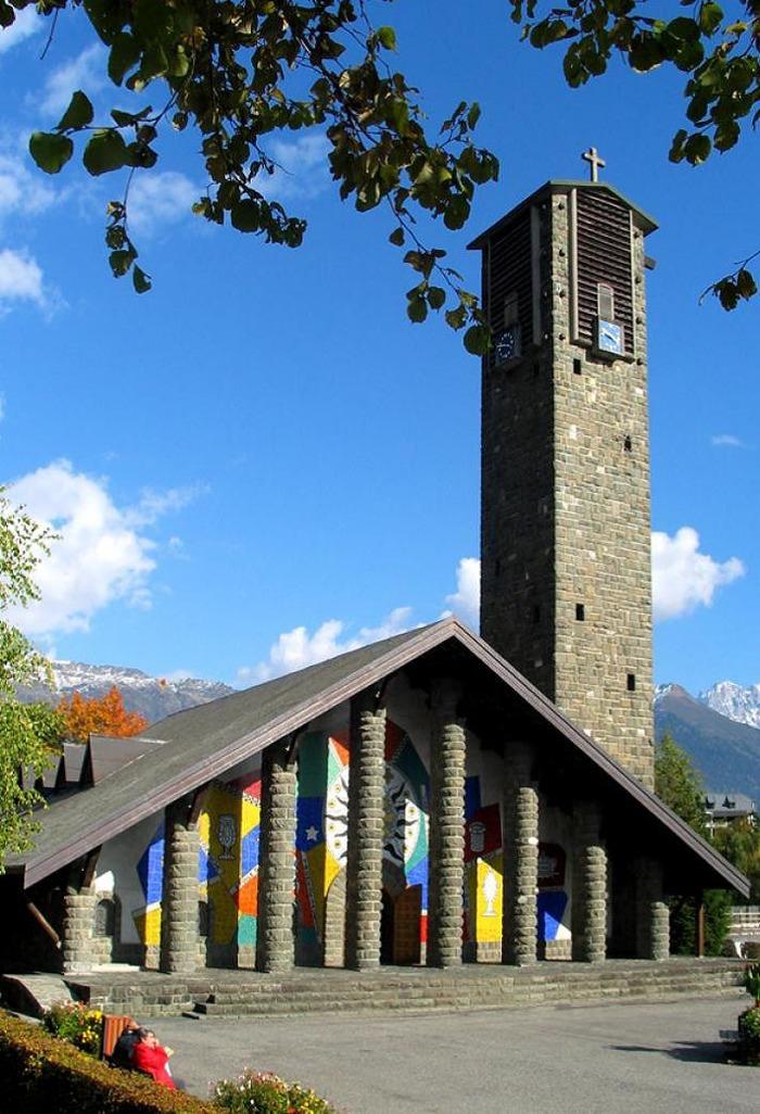 Journées du patrimoine 2018 - Découverte de l'église Notre-Dame-de-Toute-Grâce.