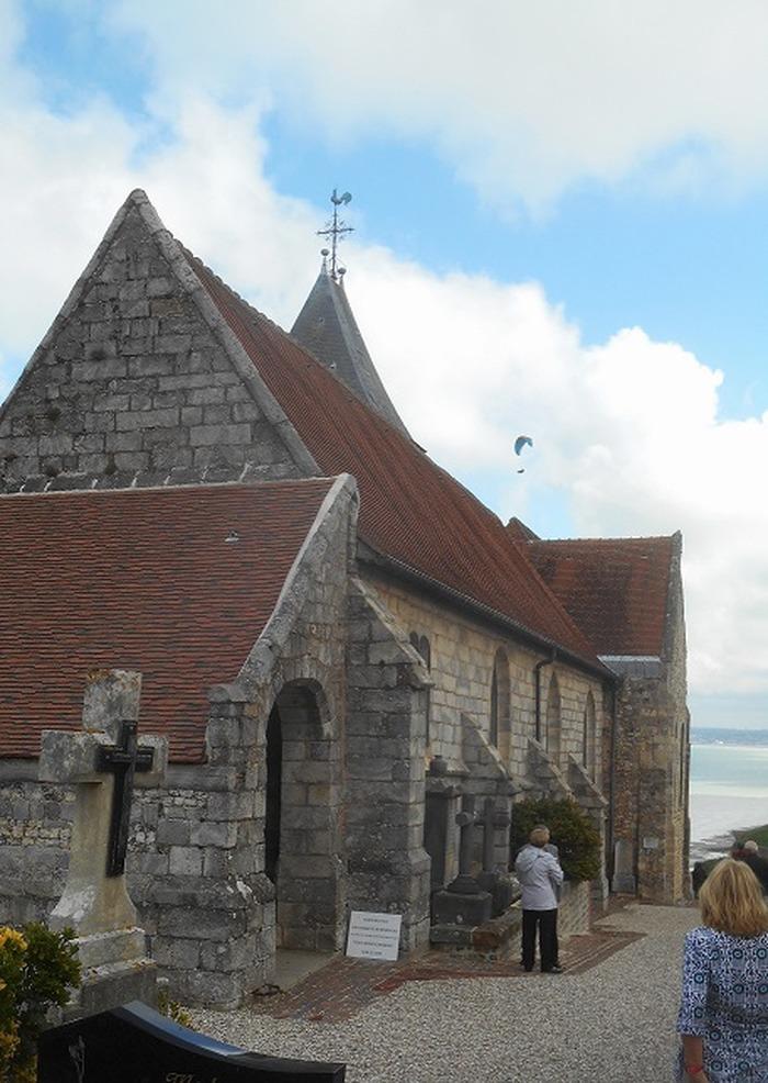 Journées du patrimoine 2018 - Visite guidée de l'église Saint-Valery et de son cimetière marin