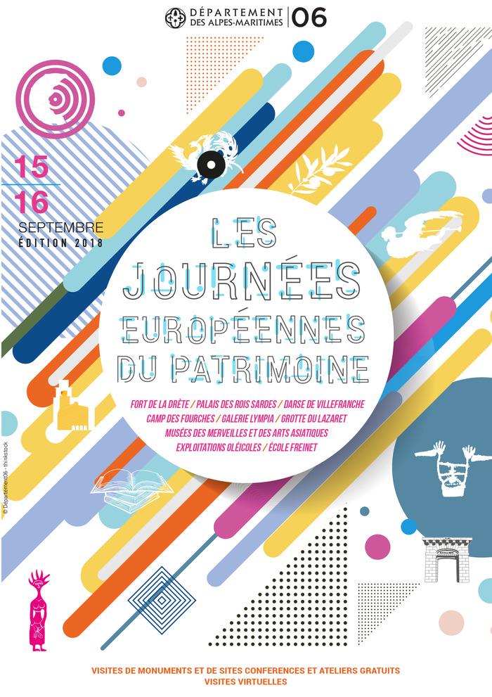 Journées du patrimoine 2018 - Découverte de l'exceptionnel patrimoine oléicole des pays de Grasse et de Nice