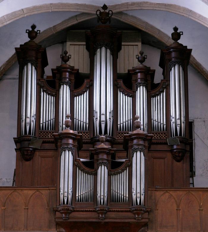 Journées du patrimoine 2018 - Découverte de l'Orgue de l'église Saint-Martin