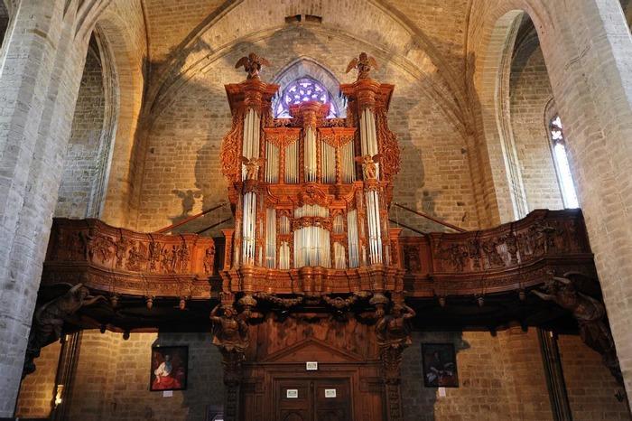 Journées du patrimoine 2018 - Découverte de l'orgue de La Chaise-Dieu.
