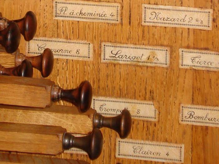 Journées du patrimoine 2017 - Découverte de l'orgue (1683) - Relevage en 2006