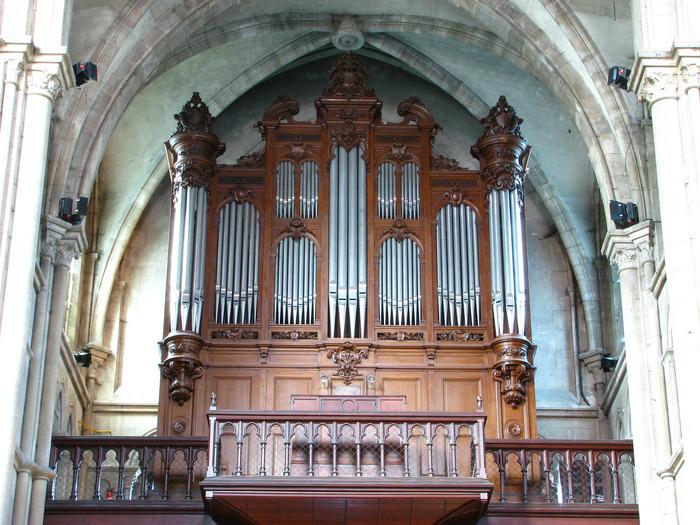 Journées du patrimoine 2018 - Découverte de l'orgue de Notre-Dame d'Epernay