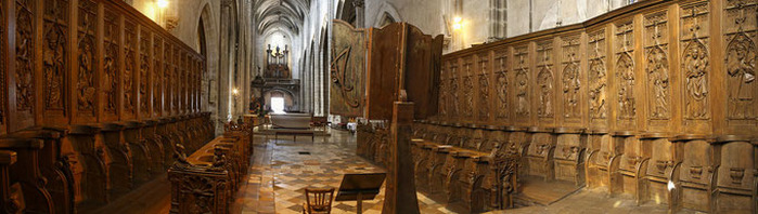 Journées du patrimoine 2018 - Découverte de l'orgue de Notre-Dame par les jeunes.