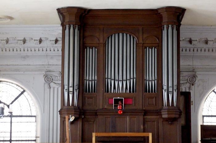Journées du patrimoine 2017 - Découverte de l'orgue du temple