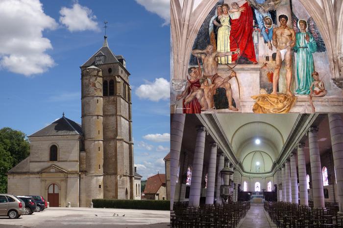 Journées du patrimoine 2018 - Découverte de l'église et de la chapelle Saint-Christophe de Champlitte