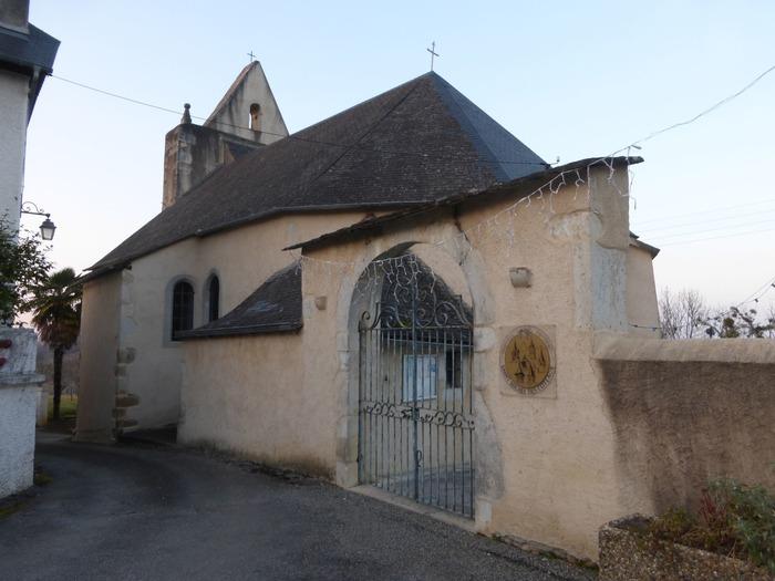 Crédits image : Chapelle Saint-Jean-Baptiste de Saint-Faust, Façade sud