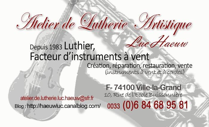 Journées du patrimoine 2018 - Découverte de la lutherie.
