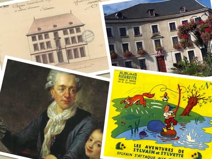 Journées du patrimoine 2018 - Découverte de la mairie et de deux artistes illustres nés à Dormans