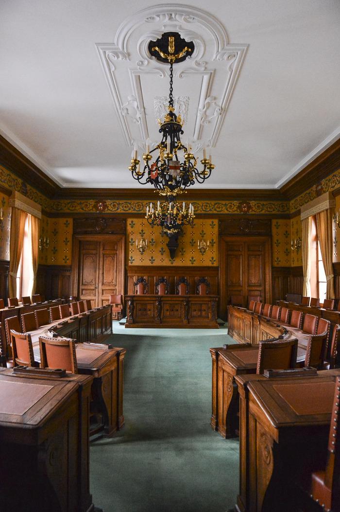 Journées du patrimoine 2018 - Visite libre de la Salle des séances du Conseil général